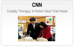 CNN - Cuddly Therapy: A Robot Seal That Heals