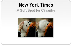 New York Times - A Soft Spot for Circuitry